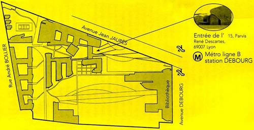 plan ENS Lyon